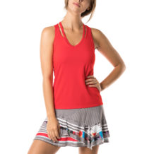 http://wigmoresports.co.uk/product/lucky-in-love-v-neck-cut-out-tank-crimson/