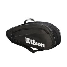 http://wigmoresports.co.uk/product/wilson-fed-team-6-racquet-black-white/