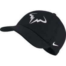 http://wigmoresports.co.uk/product/nike-aerobill-h86-rafa-cap-black-white/