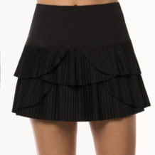 http://wigmoresports.co.uk/product/lucky-in-love-sunrise-pleat-tier-skirt-black/