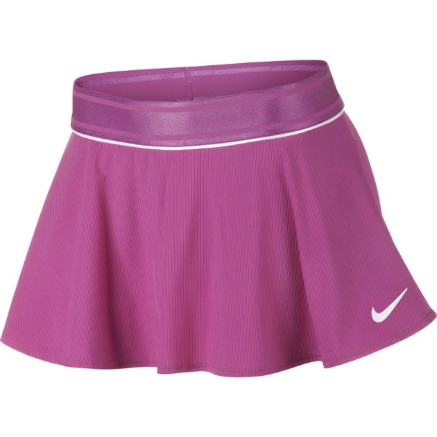 Nike Girls Court Flouncy Skirt - Active Fuchsia/White » Wigmore Sports